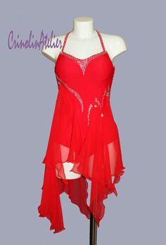 Latin ballroom , salsa dress www.crinolinatelier.it