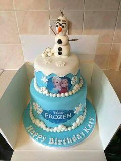 tortas infantiles de frozen cuadrada - Buscar con Google