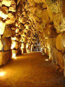 Nuraghe Santu Antine, interno. #Sardegna antica #Archeologia