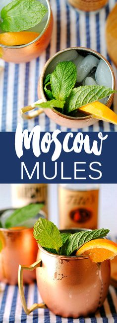 My FAVORITE Southern Moscow Mule recipe! | Eat Yourself Skinny