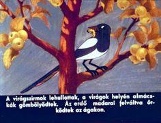 Anyóca Babóca: Az almafácska meséje Decoupage, Disney Characters, Fictional Characters, Bird, Painting, Animals, Animales, Animaux, Birds