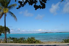 The view from Minns Cottages in Exuma, The Bahamas.