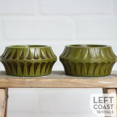 Mid Century Modern Candle Holder Set / by LeftCoastRevivals
