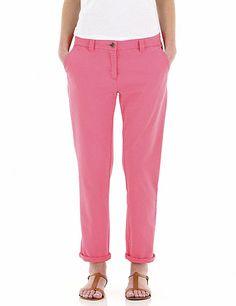 Pantalon slack Autre Ton - Pink in the City -   30 euros