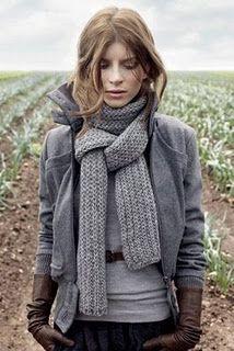 Een combinatie is grijstinten wordt interessant als je verschillende texturen bij elkaar draagt.