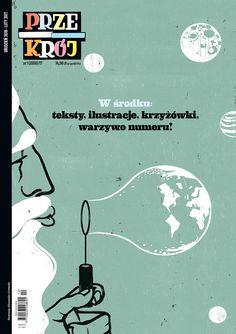"""""""Przekrój"""" wraca jako kwartalnik społeczno-kulturalny, w redakcji Niewiadomski, Jędrysik, Raczkowski i Stawiszyński Typography Layout, Movie Posters, Magazine Covers, Art, Art Background, Film Poster, Kunst, Performing Arts, Billboard"""