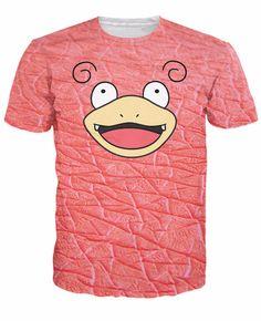 Pokemon Slowpoke Face T-Shirt World of Ash    #WorldOfAsh #PokemonGO #Pokemon