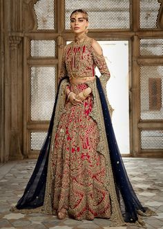 Elegant Pakistani Bridal Lehnga Dress for Wedding – Nameera by Farooq Source . - Elegant Pakistani Bridal Lehnga Dress for Wedding – Nameera by Farooq Source by Source by - Designer Bridal Lehenga, Indian Bridal Lehenga, Pakistani Wedding Dresses, Wedding Hijab, Desi Wedding, Top Wedding Dresses, Event Dresses, Eid Dresses, Fashion Dresses