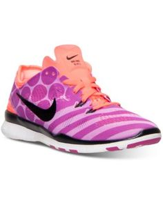 Nike Women's Free 5.0 TR Fit 5 Print Training Sneakers from Finish Line | macys.com