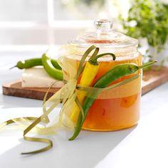 Pæremarmelade med chili og safran