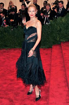 Carolyn Murphy in Nina Ricci F13 (Look 44) at Met Gala 2013