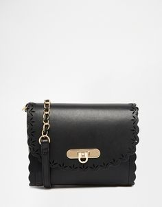 ASOS Scallop Cross Body Bag With Laser Cut Out at asos.com 64dd01a4bcc