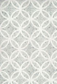 AKDO. Eternity Imperial stone mosaic - Thassos and Carrara