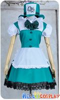 Alice In Wonderland Cosplay Mad Hatter Cosplay Maid Dress Cosplay