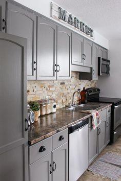 fine 43 DIY Kitchen Remodel Ideas That Inspire