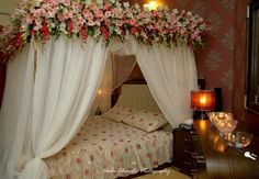 Post Feeds Great for coming to our site. You are appreciated to navigate to Wedding Room Decorations. This awesome Wedding Room Decorations will guide. Bridal Room Decor, Wedding Night Room Decorations, Romantic Room Decoration, Flower Room Decor, Romantic Bedroom Design, Wedding Bedroom, Wedding House, Wedding Stage, Bedroom Night