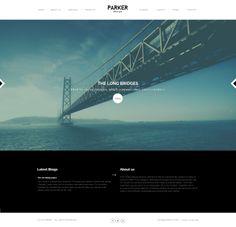 Parker - #Creative #WordPress Showcase