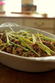 Bang bang kana on perinteinen kiinalainen kylmä ruoka, joka nyt tehdään nyhtökaurasta ja haudutetaan lämpimäksi LOOK-kinkkupussissa!