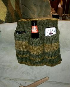 remote caddy, I need this! free pattern on ravelry