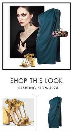 """Rh - 805"" by randeee ❤ liked on Polyvore featuring Gucci, Lanvin and Alexander McQueen"