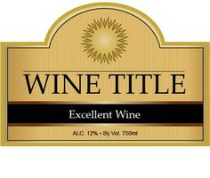 Free Blank Label Template Download WL Label Template In Word - Wine label size template
