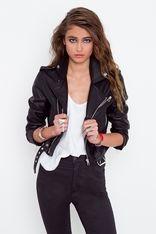 Moto Zip Crop Jacket.....Love this so much!!