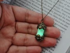 Hey, I found this really awesome Etsy listing at https://www.etsy.com/listing/232319707/glow-in-the-dark-necklace-glow-fairy