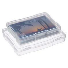 The Container Store > Translucent Photo Cases