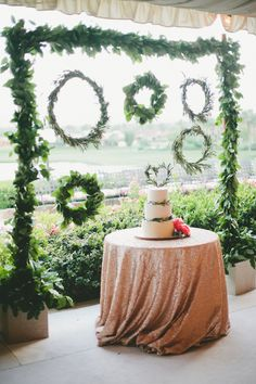 Glamorous Palm Springs Wedding from One Love Photography.