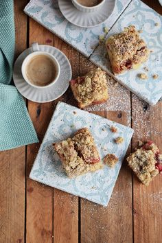 Pflaumen-Streusel-Buttermilchkuchen- Plum Crumble Buttermilk Cake