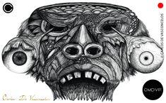 🔴SMBN 0003 - Dibujo Digital.  🔺  #CarlosDeVasconcelos #CMDVF #Ilustración #ArteDigital #Diseño #Arte #Artista #BlancoyNegro #Dibujo / #Illustration #DigitalArt #Design #Art #ArtWork #Artist #BlackAndWhite #bw #bnw #Desenho #Drawing Illustration, Skull, Animation, Drawings, Artwork, Pictures, Painting, Image, How To Draw Stuff