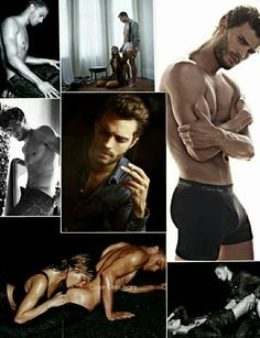 Oh my! Here's our delectable, Christian Grey. I approve!