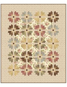 L'angolo Quilters: 'Garden Party' di Blackbird Designs- possible pattern for reproduction fabrics?