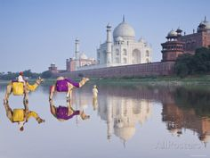 Taj Mahal, Agra, Uttar Pradesh, India Photographic Print by Doug Pearson : Taj Mahal, India Agra, Taj Mahal, New Delhi, Capital Des Pays, Safari, India Poster, Station Balnéaire, Photos Voyages, Affordable Wall Art