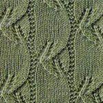 50 Free Lace Leaf Knitting Stitches ⋆ Knitting Bee