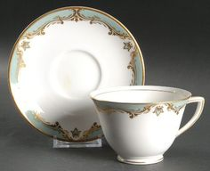 """Devonshire"" china pattern from Royal Worcester."