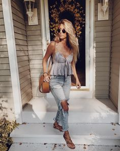"15.9k Likes, 132 Comments - halley elefante (@the_salty_blonde) on Instagram: ""Elderly people never give me a dirty look when I wear these jeans. Never. #howdareshe"""