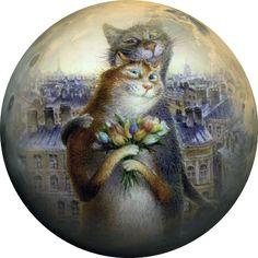 Мир рукоделия Лидии Костиной и не только...: Картинки круглые для декупажа. часть 2