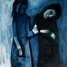 The gift 1961 Charles Blackman