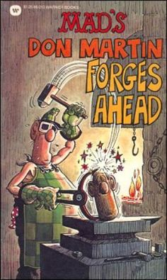 Mad's Don Martin Forges Ahead 1977