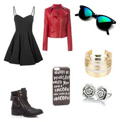 Untitled #88 by devonmichelleb on Polyvore featuring polyvore, fashion, style, Glamorous, Jitrois, WithChic, Chamilia and JFR
