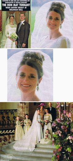The lovely Tennant family diamond star tiara.