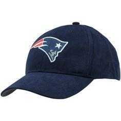 '47 Brand New England Patriots Youth Basic Team Logo Adjustable Hat - Navy Blue