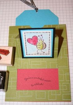 Splitcoaststampers - Surprise Pop Up Card Project Tutorial by Beate Johns watch the video on same page has wonderful directions and an oval imagine on card