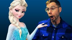 Pittsburgh Dad watches Frozen. Owen Wilson and ICE WOOFS.  SO funny.