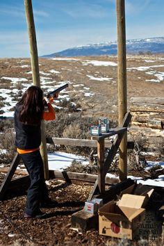 Clay Shooting in Colorado | FamilyFreshCooking.com Skeet Shooting, Trap Shooting, Shooting Sports, Shooting Range, Outdoor Fun, Outdoor Camping, Sporting Clays, Visit Colorado, Hunting Stuff