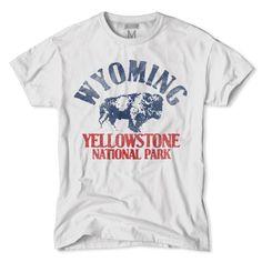Wyoming-Yellowstone National Park T-Shirt