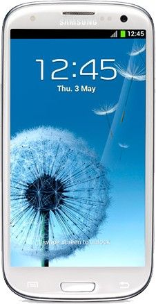 Samsung I9305 Galaxy S III Android smartphone. Announced 2012, September. Features 3G, 4.8″ Super AMOLED capacitive touchscreen, 8 MP camera, Wi-Fi.  Condition: Used product Storage:	16GB (internal memory) Network:	Any Network / Unlocked Colour:	White Grade:	C (average condition)