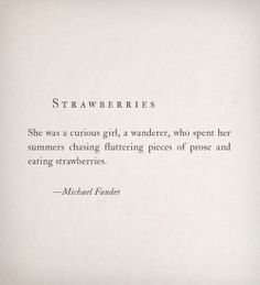Strawberries by Michael Faudet