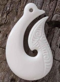 Every single Hei-Matau Bone Carving Pendant is hand made by a Maori craftsman here in New Zealand